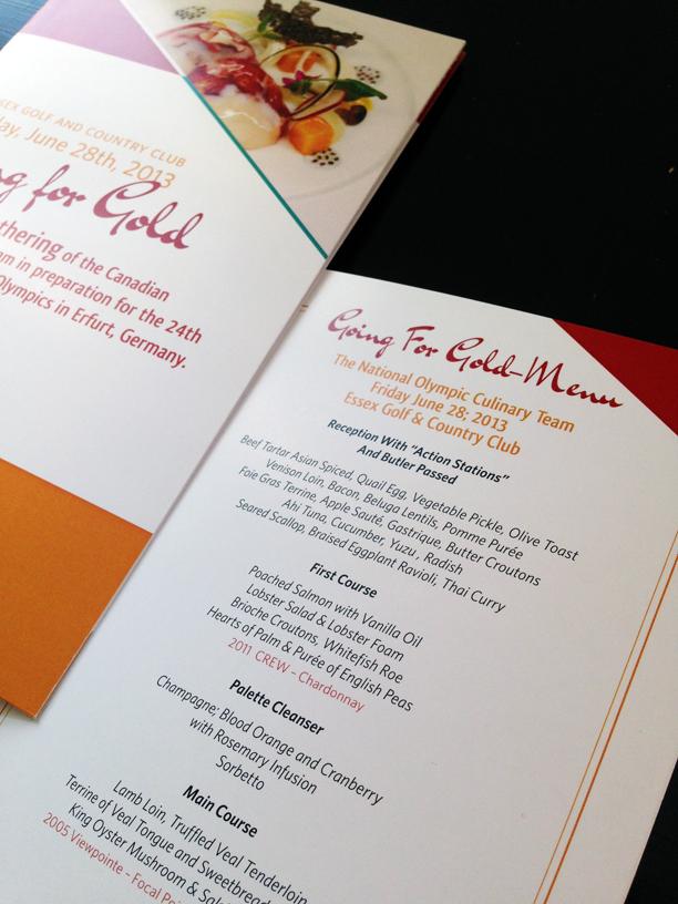 Ballyhoo Design - CCFCC Culinary Federation Program